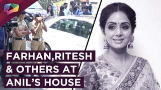Farhan, Ritesh, Deepti And Others Visit Anil Kapoor's House For Giving Condolences