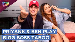Priyank And Benafsha Soonawala Play The Hilarious Bigg Boss 11 Taboo | Exclusive