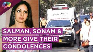 Salman, Sonam And Other Celebs Give Their Condolences After Sridevi's Demise