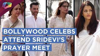 Bollywood Celebs Come To Attend Sridevi's Prayer Meet At Celebrations Club