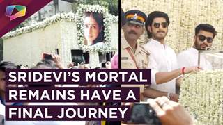 Sridevi's Mortal Remains Shifted From Celebrations Club After The Prayer Meet
