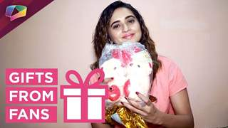Shivani Surve Receives Gifts From Fans   Exclusive