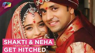 Shakti And Neha Opt For Hush Hush Wedding