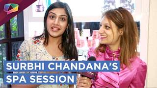 Surbhi Chandana Takes A Relaxing Spa Session