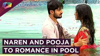 Naren Pooja's Swimming Pool Romance