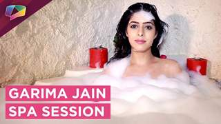 Garima Jain Takes A Relaxing Spa Session