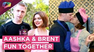 Aashka And Brent Spend Some Amazing Time With India Forums| Exclusive