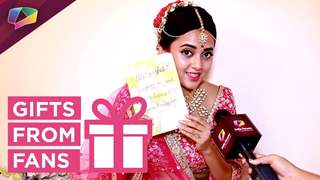 Tejaswi Prakash Receives Gifts From Her Fans