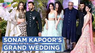 Sonam And Anand's Grand Wedding Reception