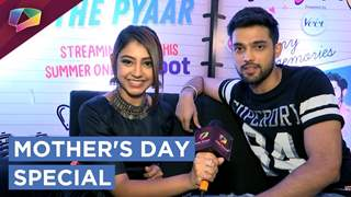 Niti Taylor And Parth Samthaan Exclusively On Mothers Day