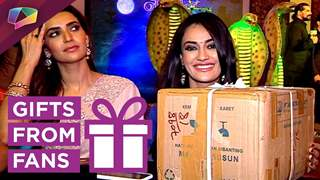 Surbhi Jyoti Receives Gifts From Her Fans