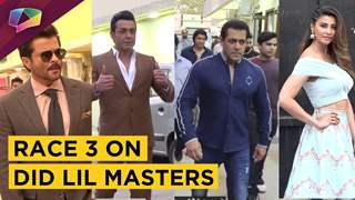 Remo Dsouza, Salman Khan & Team Race 3 Visit Dance India Dance Lil Master's Set