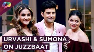 Urvashi And Sumona On Rajeev Khandelwal's Show Juzzbaat