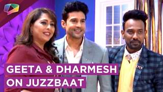 Geeta Kapoor And Dharmesh Yelande On Zee tv's show Juzzbaat