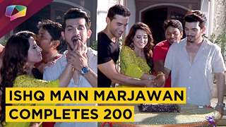 Colors Tv's Ishq Main Marjawan Hits 200 Episodes | Exclusive