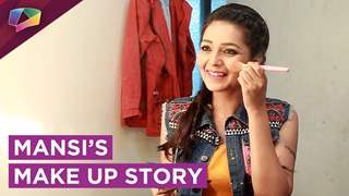 Mansi Srivastav Aka Bhavya Shows Her Quick Touch Up & Shares Her Make Up Favourites