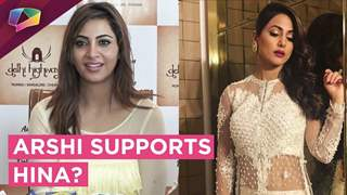 Arshi Khan Supports Hina Khan Against Trolls?