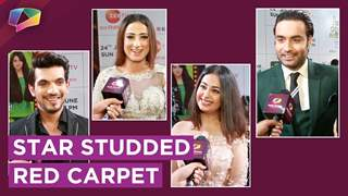 Vivian Dsena, Arjun Bijlani, Rithvik & More Walk The Red Carpet At Zee tv Gold Awards