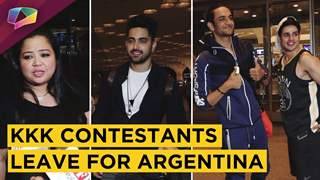 Khatron Ke Khiladi Contestants Vikas Gupta, Bharti, Harsh, Zain, Jasmin Leave For Argentina