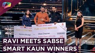 Ravi Dubey Gives Prizes To Sabse Smart Kaun Winners | Star Plus