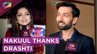 Nakuul Mehta Thanks Drashti Dhami | Drashti Wants To Be A Part Of Ishqbaaaz