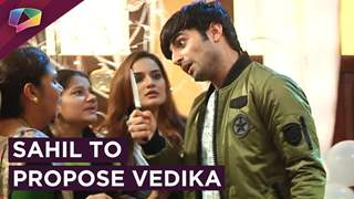 Sahil Is All Decked Up To Propose Vedika | Aapke Aa Jaane Se