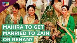 Meher Spoils Mahira's Plan And Get Her Married To Zain? | Mariam Khan Reporting Live