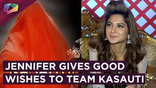 Jennifer Winget Gives Her Good Wishes To Team Kasauti Zindagi Kay 2