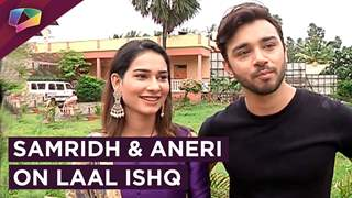Samridh Bawa And Aneri Vajani In &tv's Show Laal Ishq