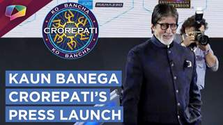 Sony Tv Hosts Kaun Banega Crorepati's Launch | Press Conference