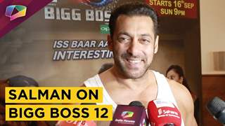Salman Khan Shares About Colors tv show Bigg Boss 12