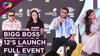 Bigg Boss 12's Launch | Salman Khan's Entry | Bharti, Harsh's Fun Time & More | Colors tv