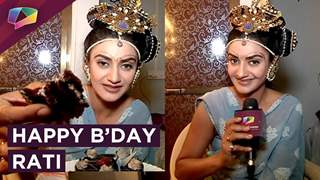 Rati Pandey Celebrates Her Birthday With India Forums