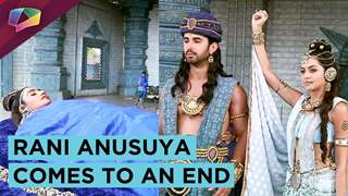 Rani Anusuya Bids A Good Bye | Rati Pandey's Last Day Shoot For Porus | Sony tv