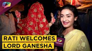 Rati Pandey Welcomes Lord Ganesha With Immense Love | India Forums | Ganesh Chaturthi