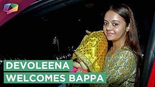 Devoleena Bhattacharjee Welcomes Bappa With Love And Joy | Ganesh Chaturthi 2018