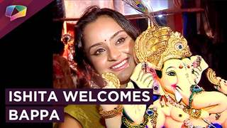 Ishita Ganguly Welcomes Ganpati Bappa | Ganesh Chaturthi 2018 | India Forums