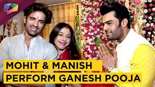 Mohit Malik And Manish Paul Perform Ganesh Pooja | Ganesh Chaturthi 2018