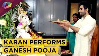 Karan Tacker Performs Ganesh Pooja | Ganesh Chaturthi 2018