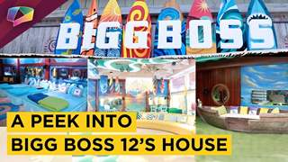 Bigg Boss 12's House | Tour Of The Beach Themed Bigg Boss House | Colors tv
