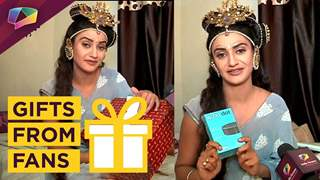 Rati Pandey Receives Gifts From Her Fans | Exclusive