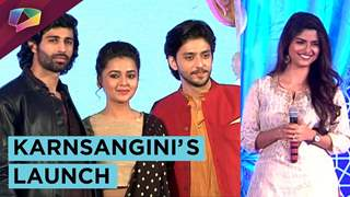 Kinshuk Vaidya, Tejaswi, Sayantani And More At Karnsangini's Launch | Star Plus