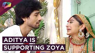 Aditya Is Trying To Support Zoya As She Is Broken | Bepannah | Colors tv