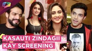Parth Samathan, Erica Fernandes, Pooja, Krystle, Urvashi & More At Kasauti's Screening