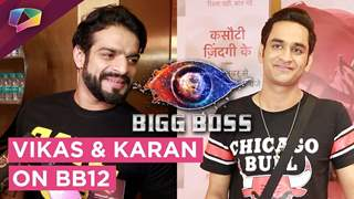Vikas Gupta And Karan Patel Share About Bigg Boss 12 | India Forums