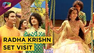 Radha Krishn Set Visit With Producer Siddharth Kumar Tewary & Crew | Exclusive