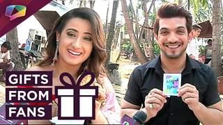 Arjun Bijlani And Alisha Panwar Receive Gifts From Fans | Exclusive