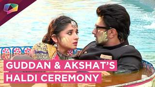Guddan And Akshat's Exciting Haldi Ceremony | Zee tv