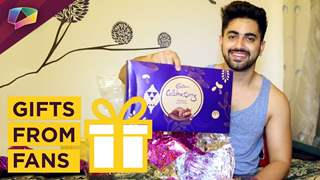 Zain Imam Receives Gifts From His Fans   Exclusive Interview