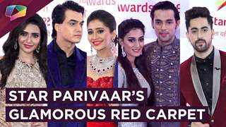 Erica, Parth, Nakuul, Surbhi And Many More Grace The Red Carpet | Star Parivaar Awards 2018
